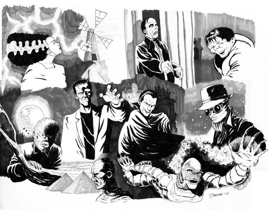Classic Universal Monsters Wallpaper Wallpapersafari