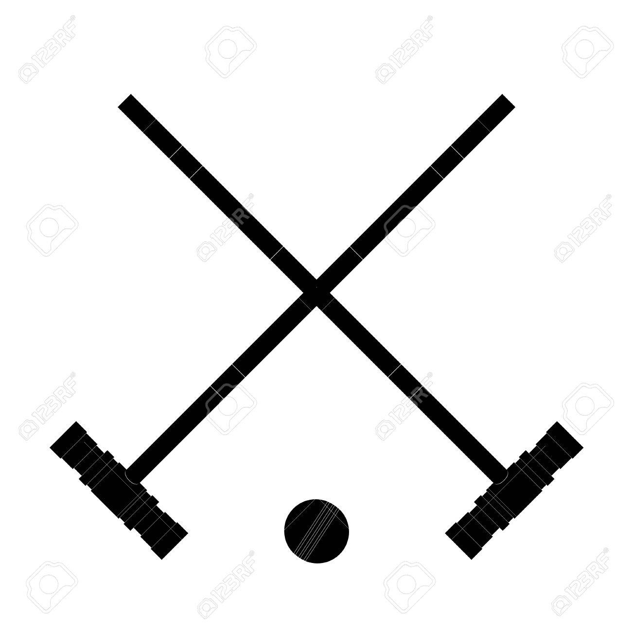 Black Image The Hammers And Ball Hammers And The Ball Croquet 1300x1300