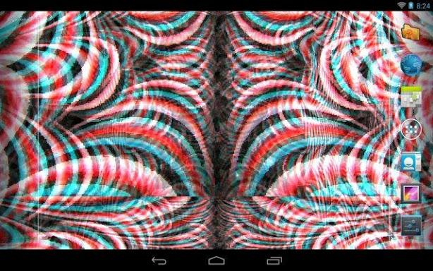 Crazy Trippy Live Wallpaper Review Android App Playboard 614x384