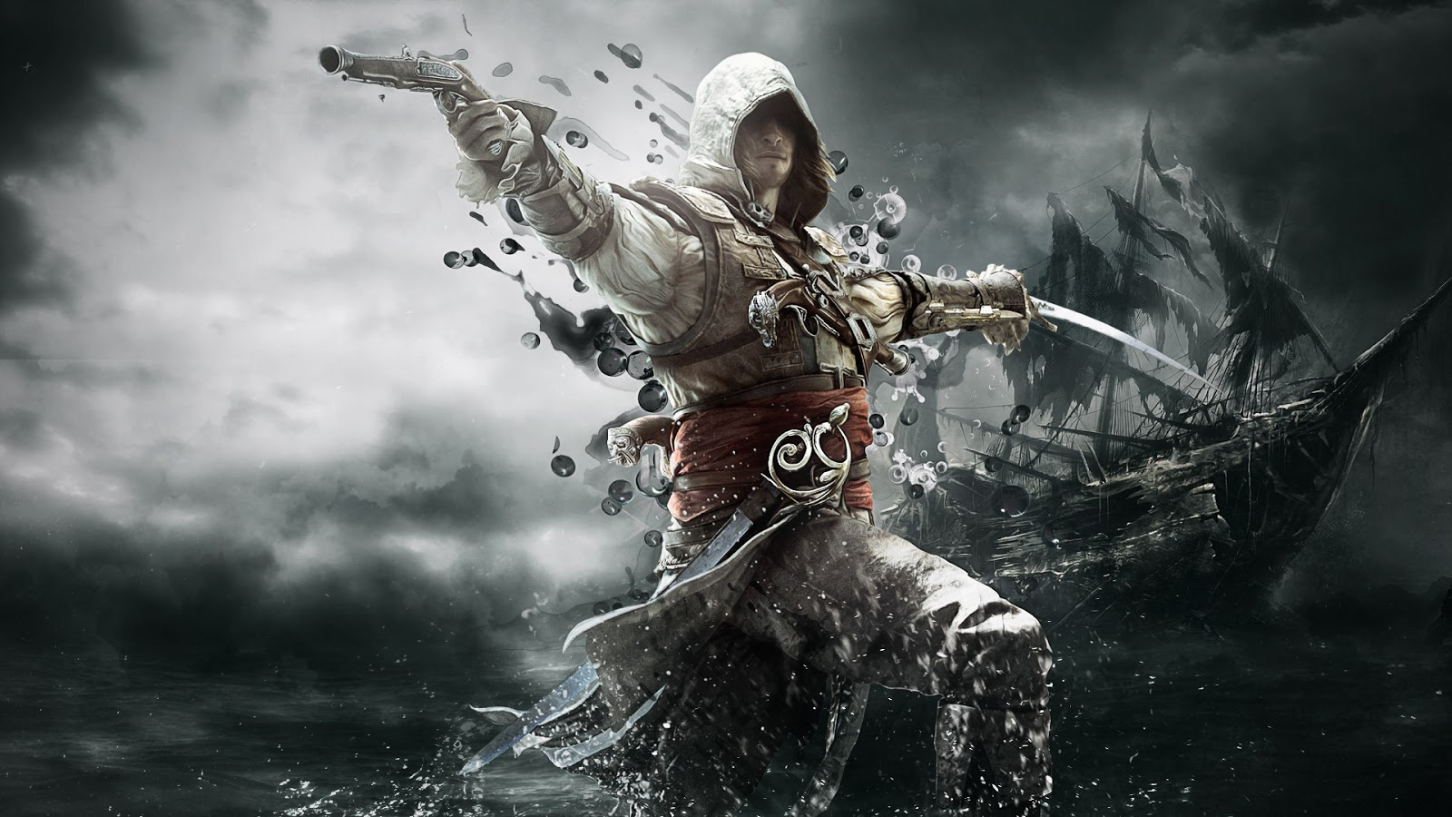 Assassins Creed 4 HD Wallpapers 1600x900