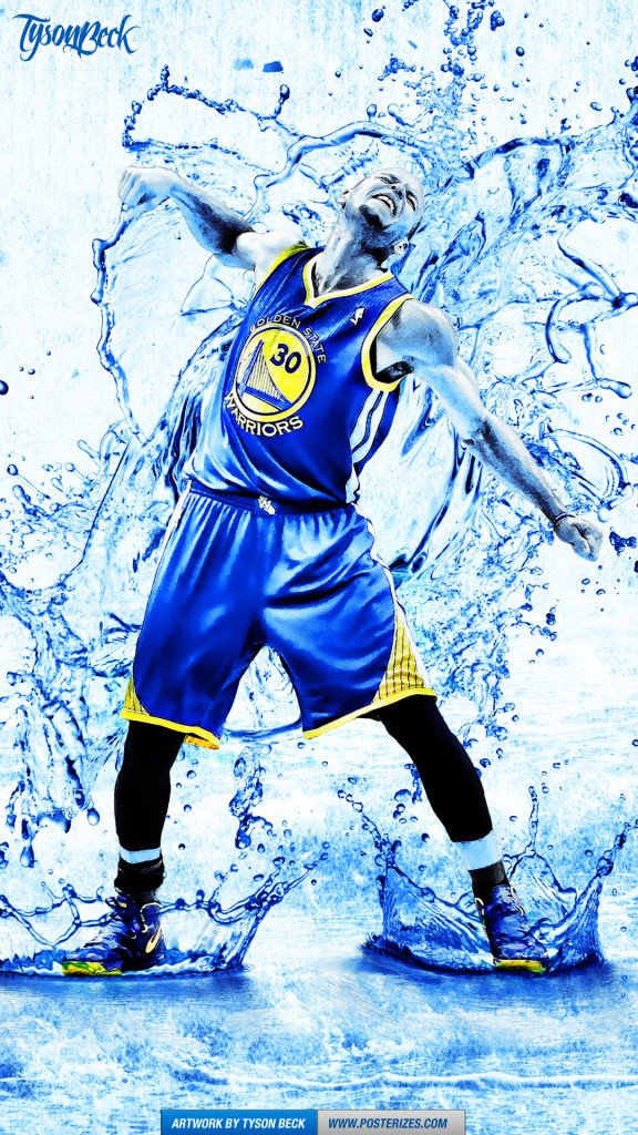 Stephen Curry \Splash\ Wallpaper Posterizes NBA Wallpapers 576x1024