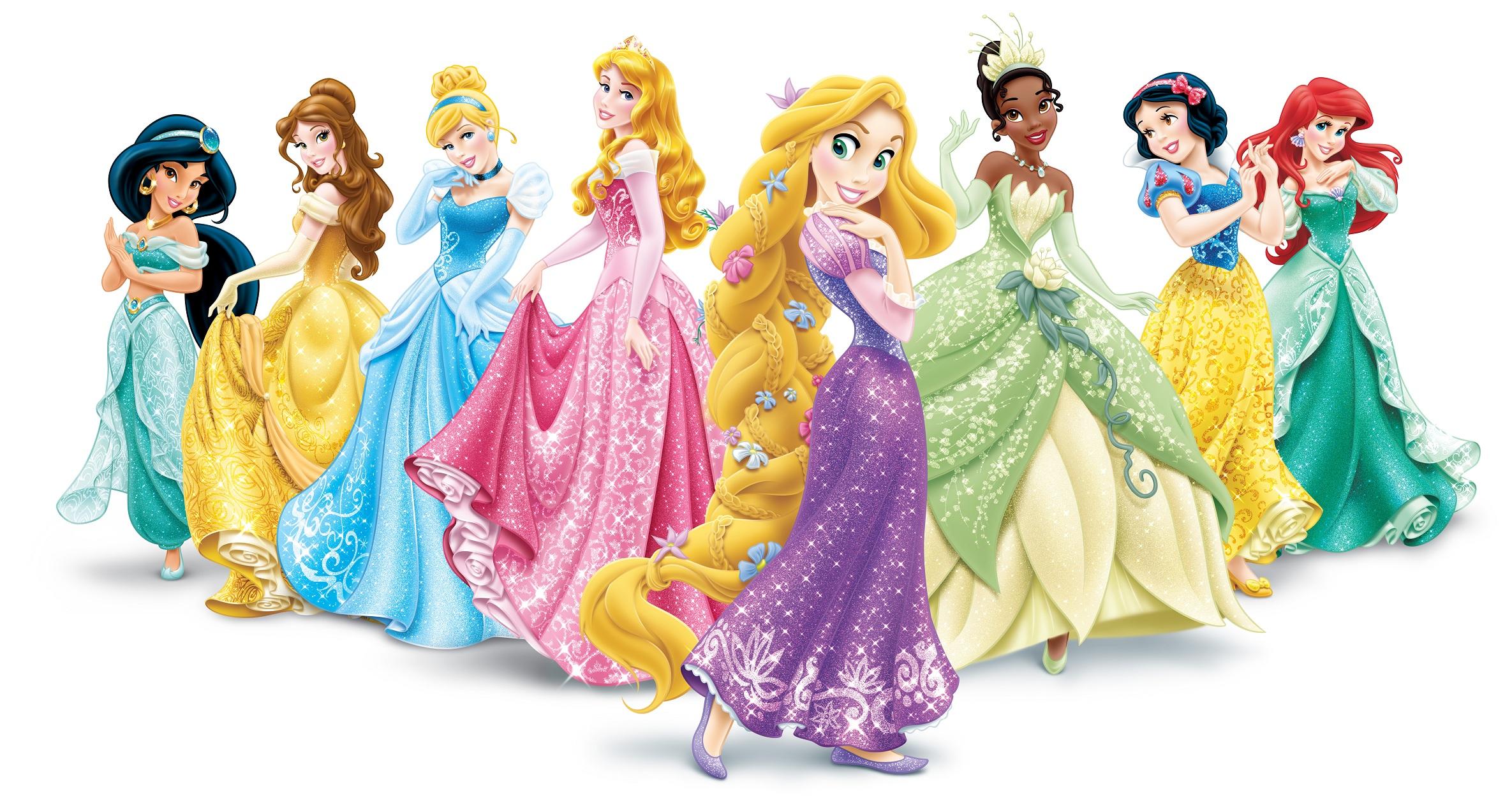 Disney Characters Pink Wallpapers HD Desktop Background 2370x1262