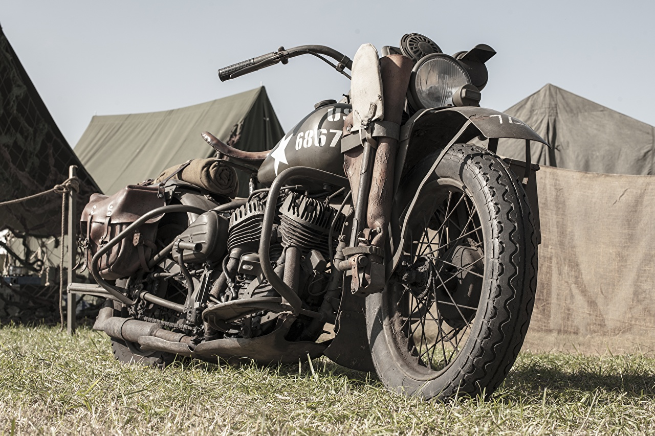Wallpapers Harley Davidson WLA Liberator 1942 1280x853