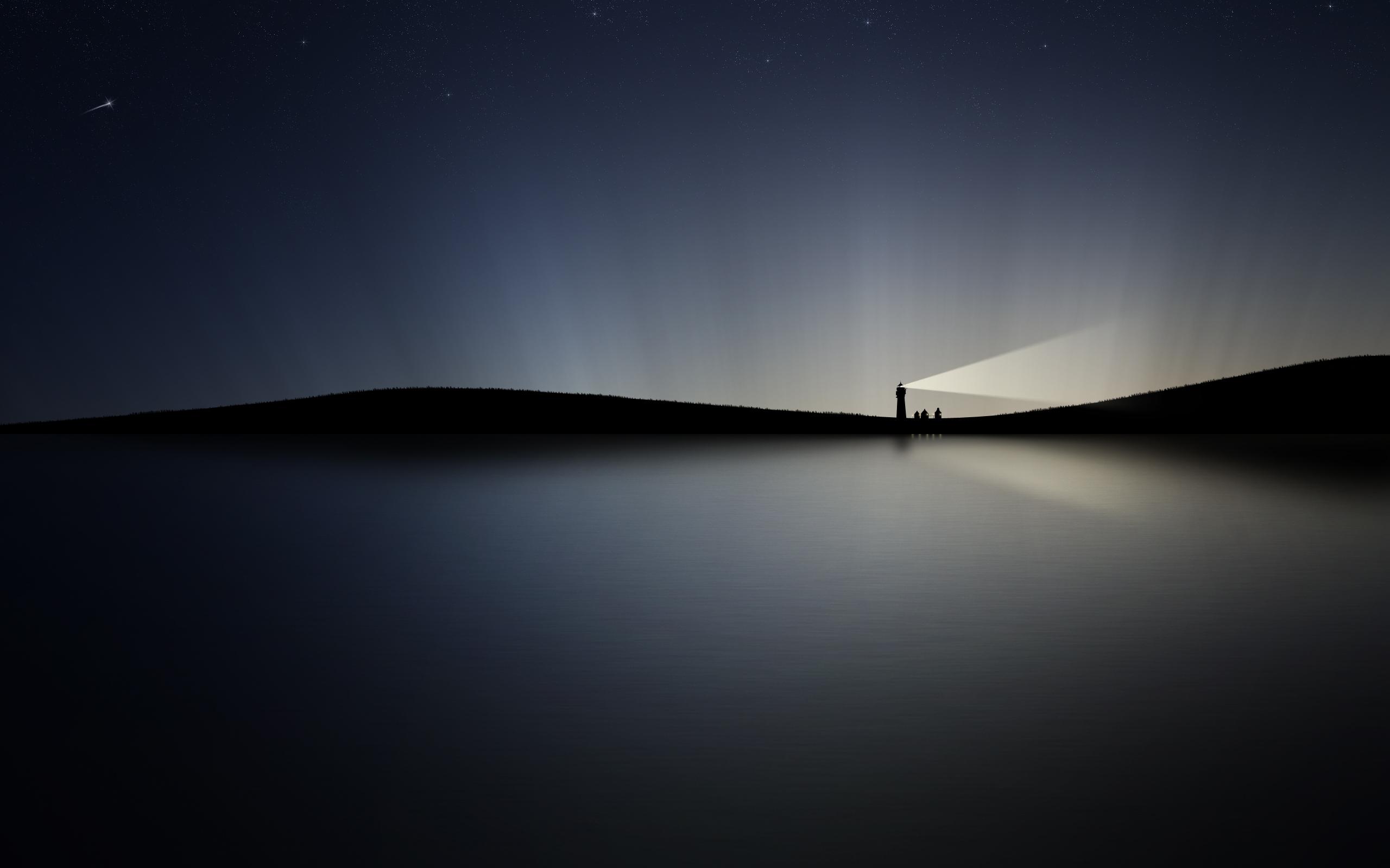 Desktop Night Sky HD Wallpapers 2560x1600