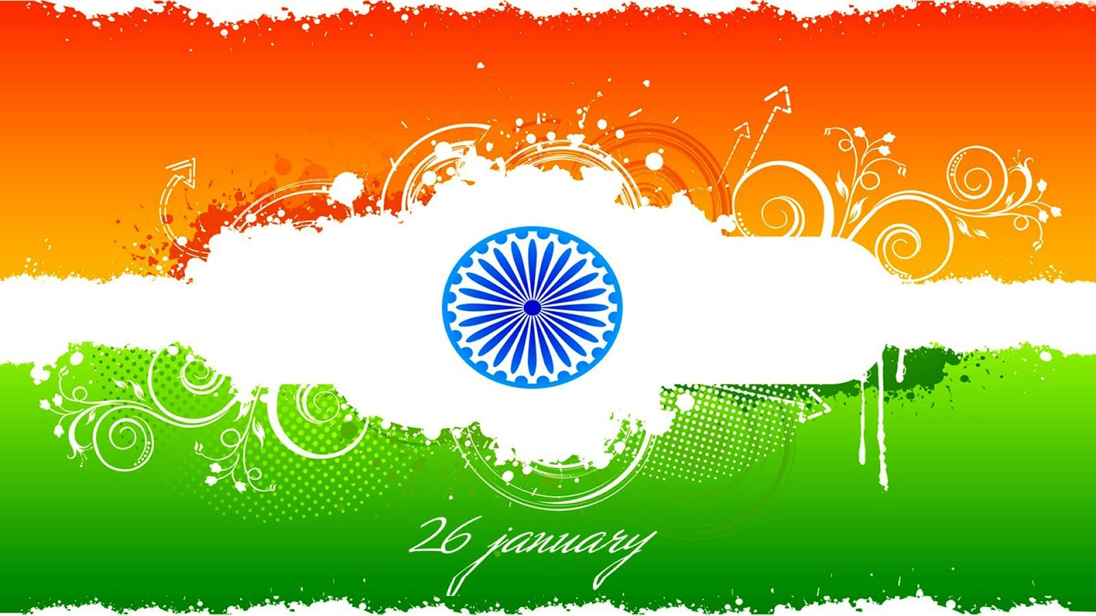 Happy Republic Day Wallpapers HD Download 1080p 1600x900