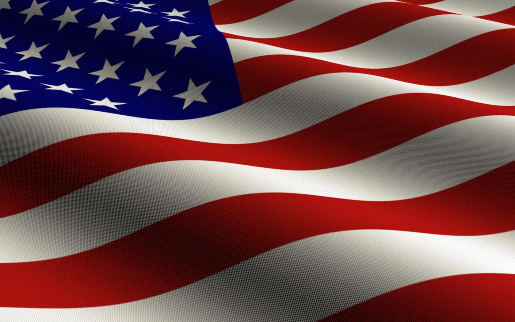 USA American Flag wallpaper background 1680x1050