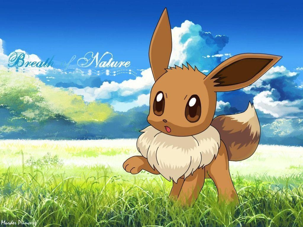 Pokemon Eevee Wallpapers 1024x768