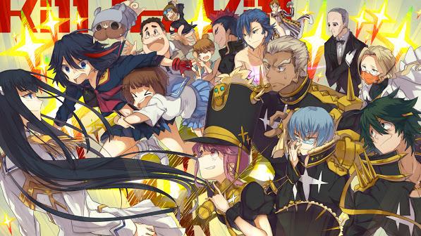 Kill la Kill Anime Characters 6g Wallpaper HD 597x336