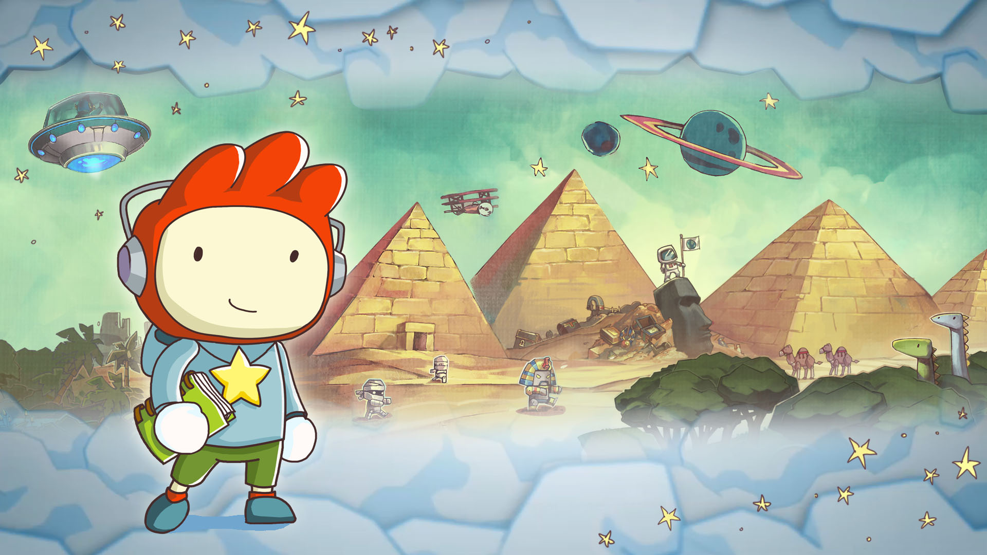 Scribblenauts Unlimited HD Wallpapers and Background Images 1920x1080