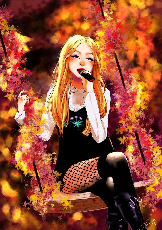 Rose   blackpink by BraveCatt 1024x1448