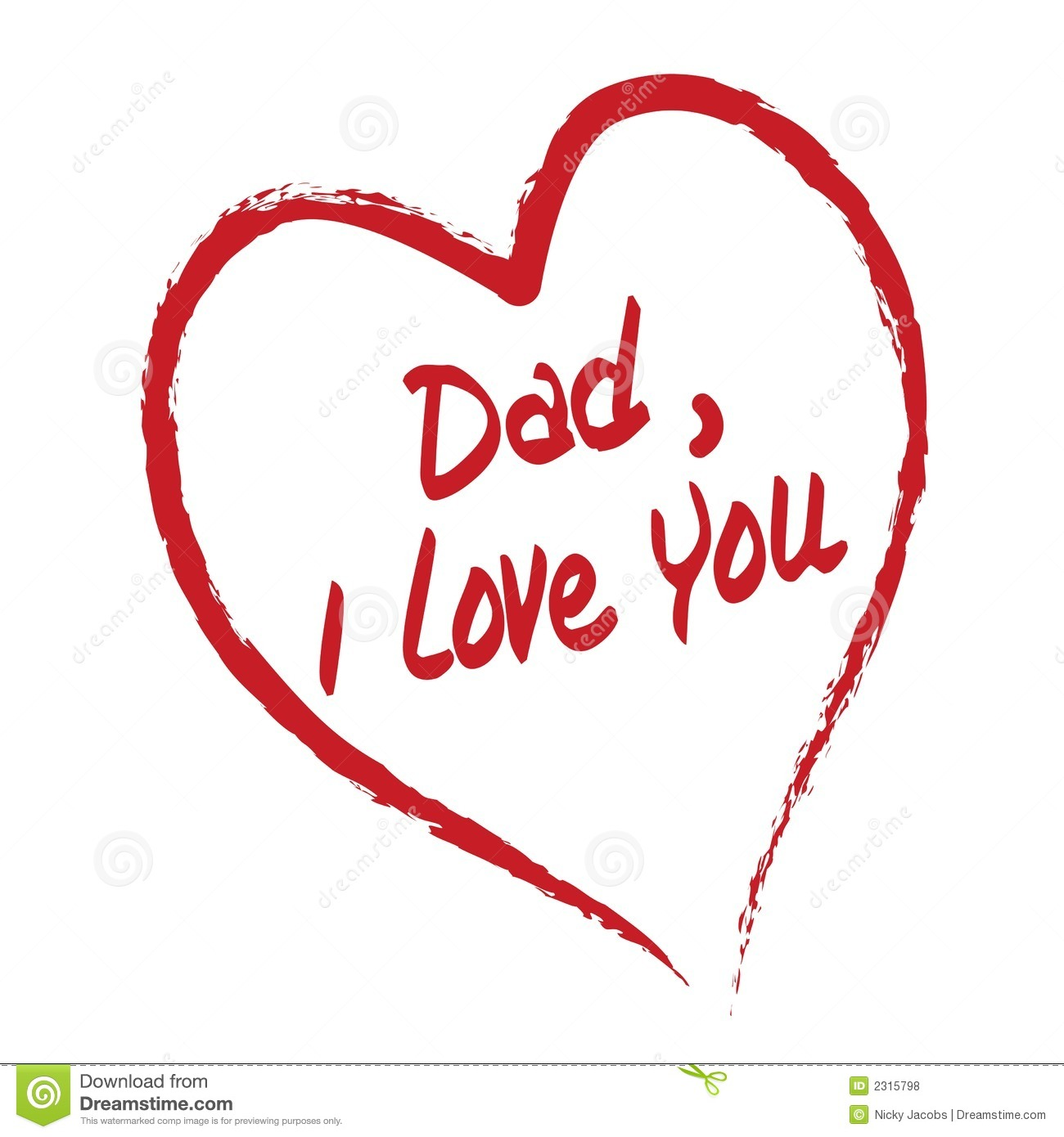 Father Love: I Love You Daddy Wallpaper