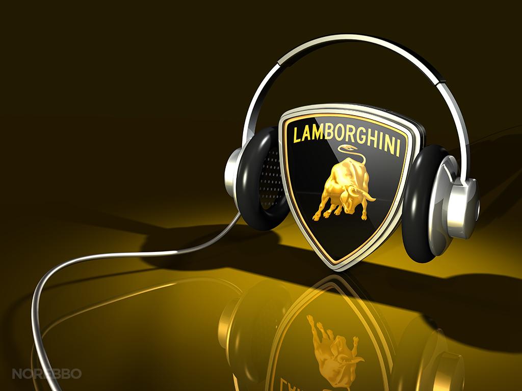 Android Music Lamborghini Logo Wallpaper 4865   Ongur 1024x768