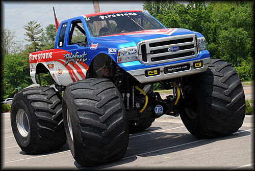 My blog bigfoot monster truck wallpaper 500x336
