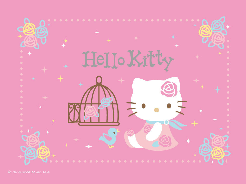 Hello Kitty Wallpaper   Hello Kitty Wallpaper 8256562 1024x768