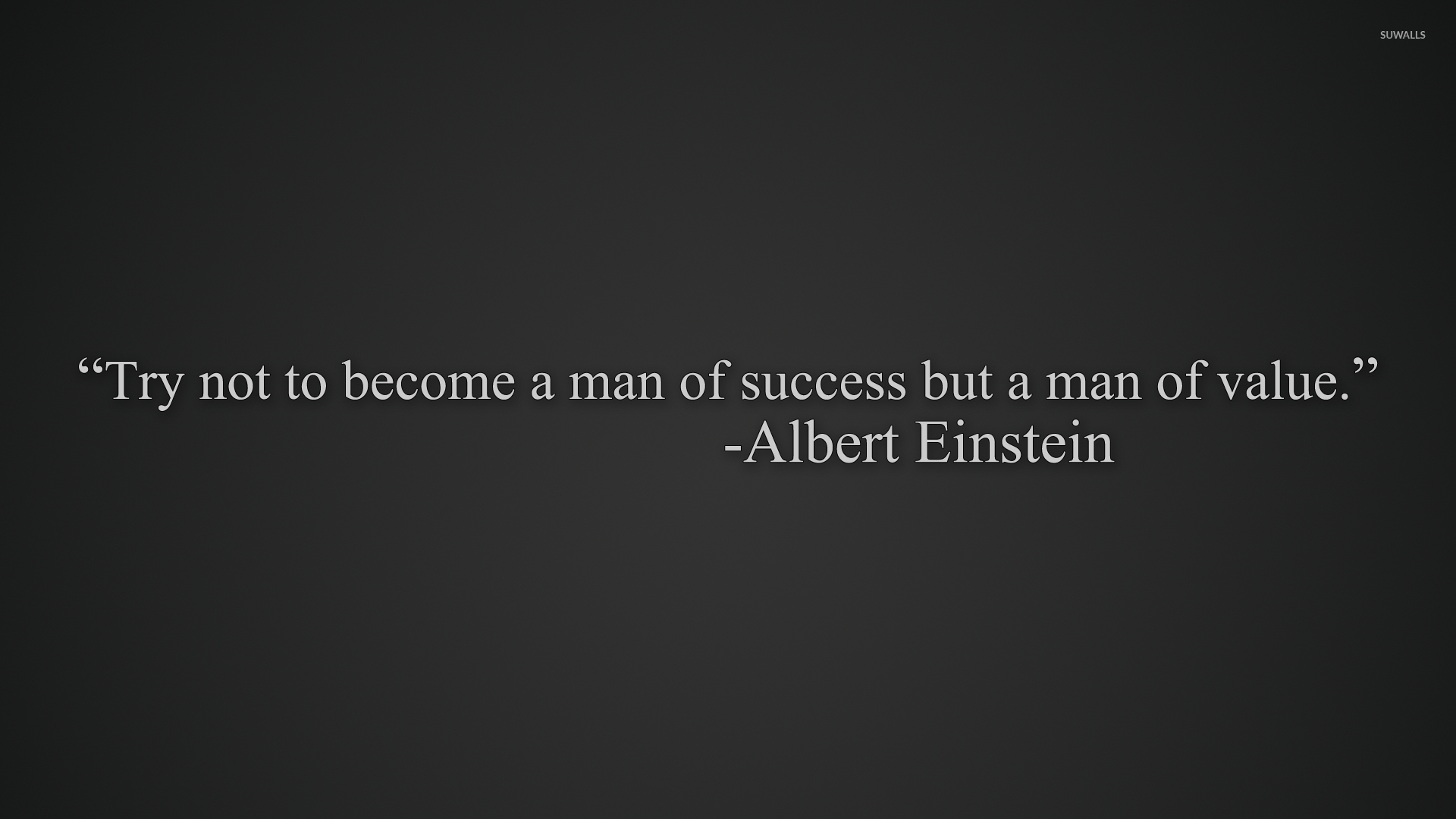 Try to become a man of value wallpaper   Quote wallpapers   44573 1920x1080