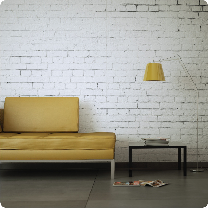 Home HOME AND LIVING SPACES White Brick 800x800