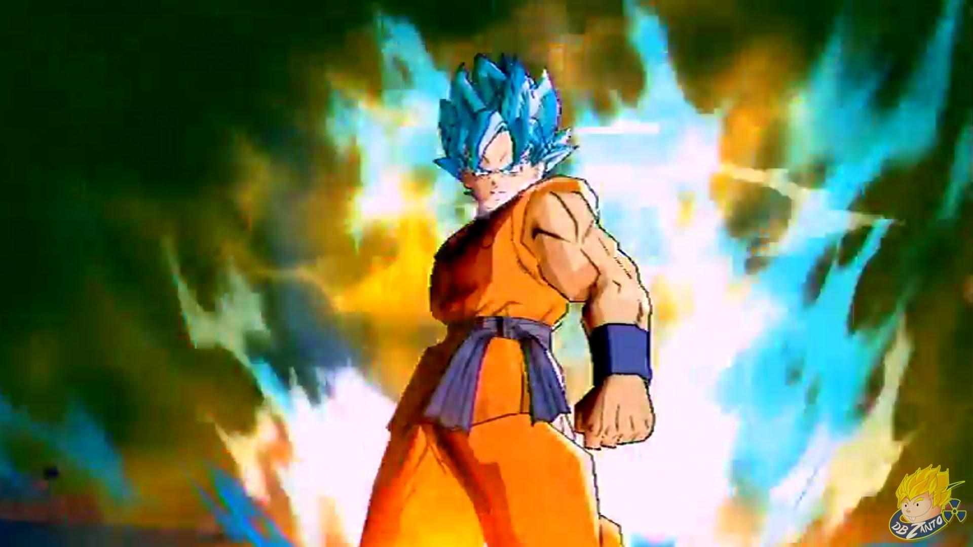Gokus New Super Saiyan [SSGSS] Transformation RevealedFULL HD 1920x1080