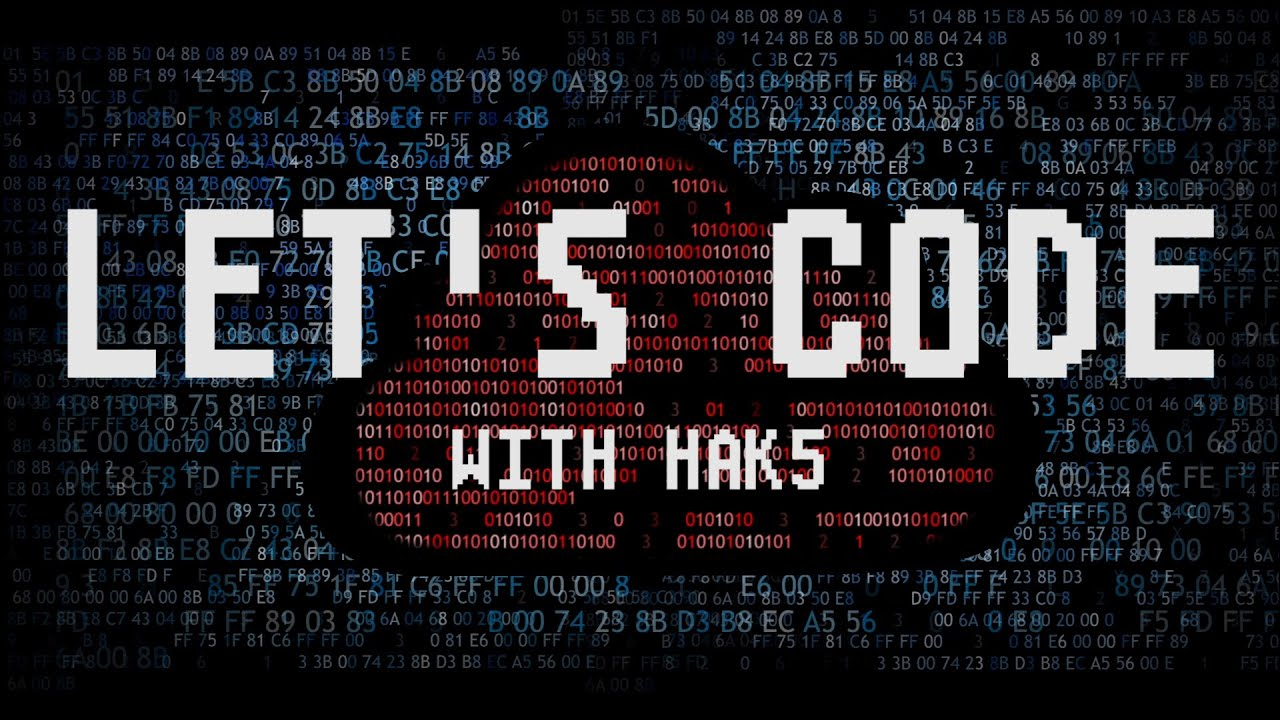 Darrens Lets Code Wallpaper Hak5 1280x720