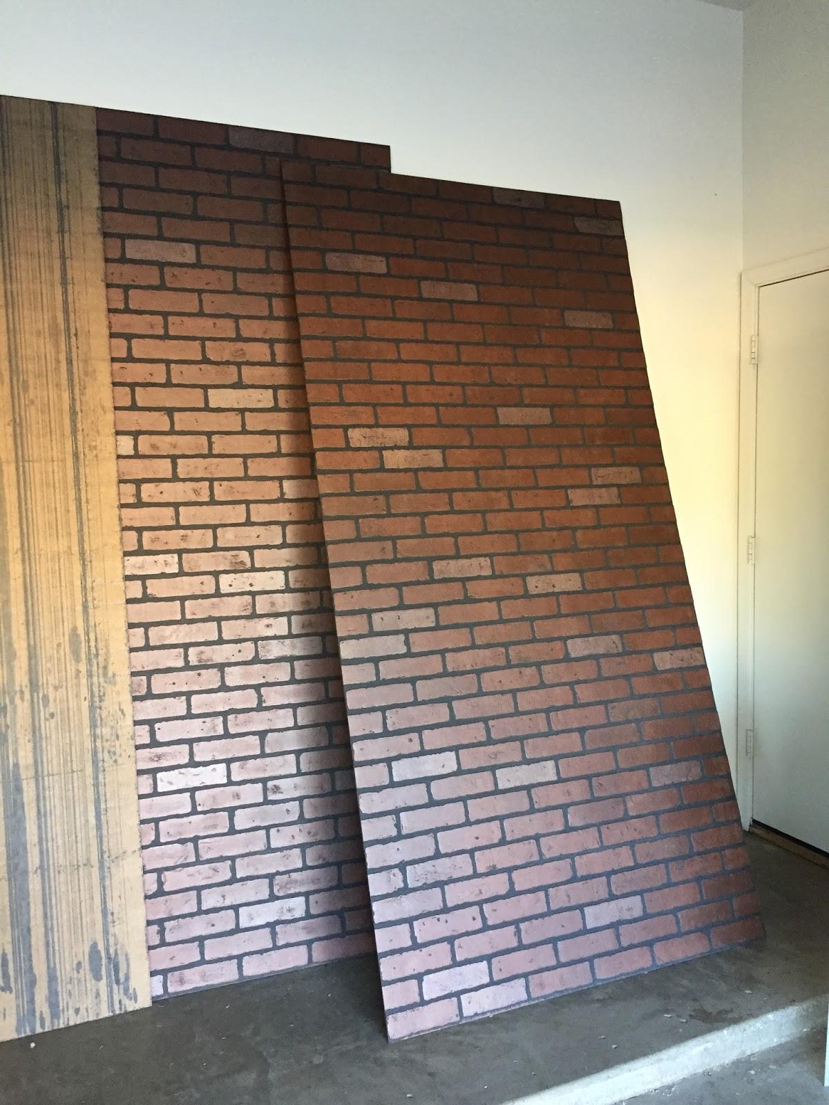 Faux Brick Panels Home Depot Freckles in april diy faux brick 1200x1600