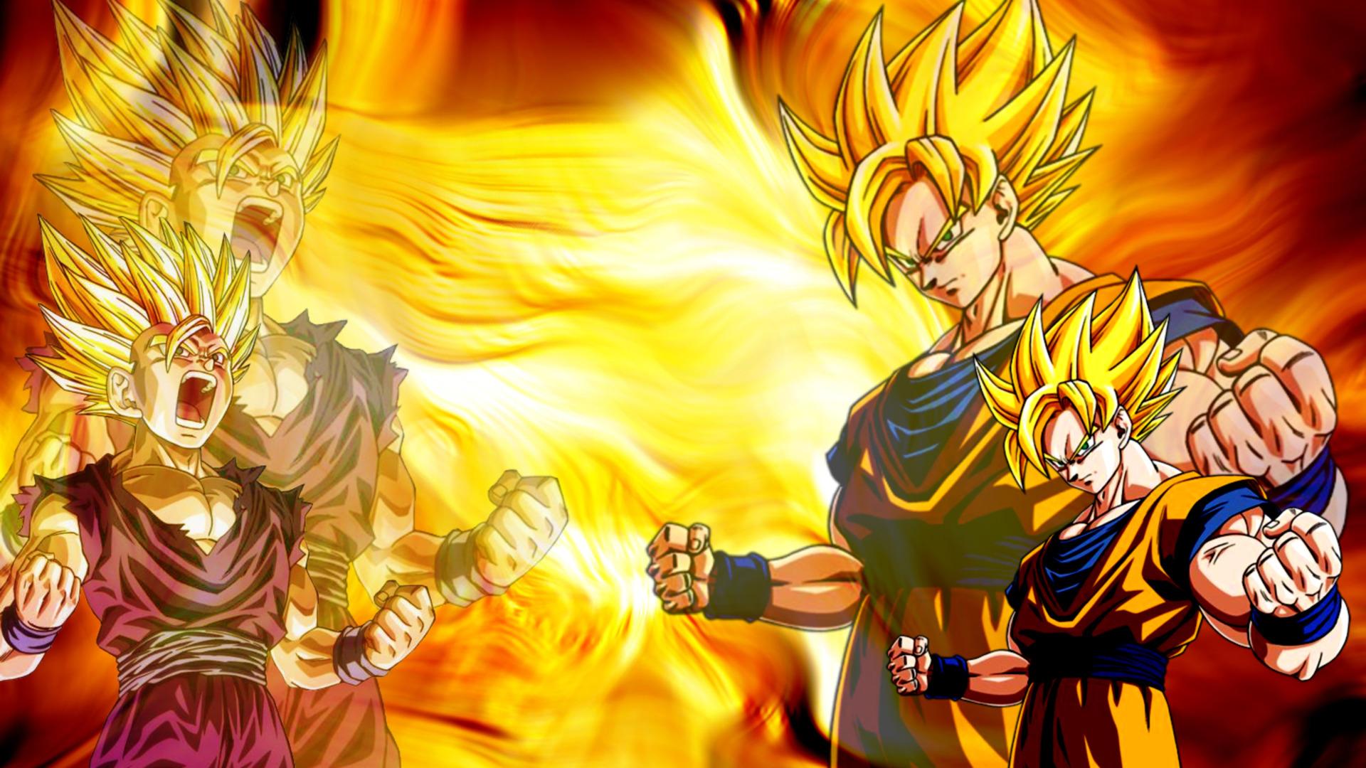 Son Goku Wallpaper 1920x1080 Son Goku Son Gohan Dragon Ball Z 1920x1080