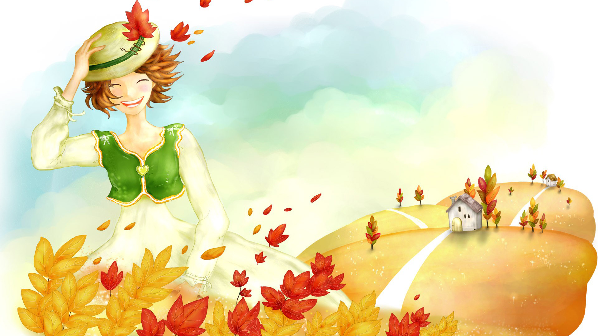 Wallpaper Autumn 1080p High Definition Wallpaper 1920x1080