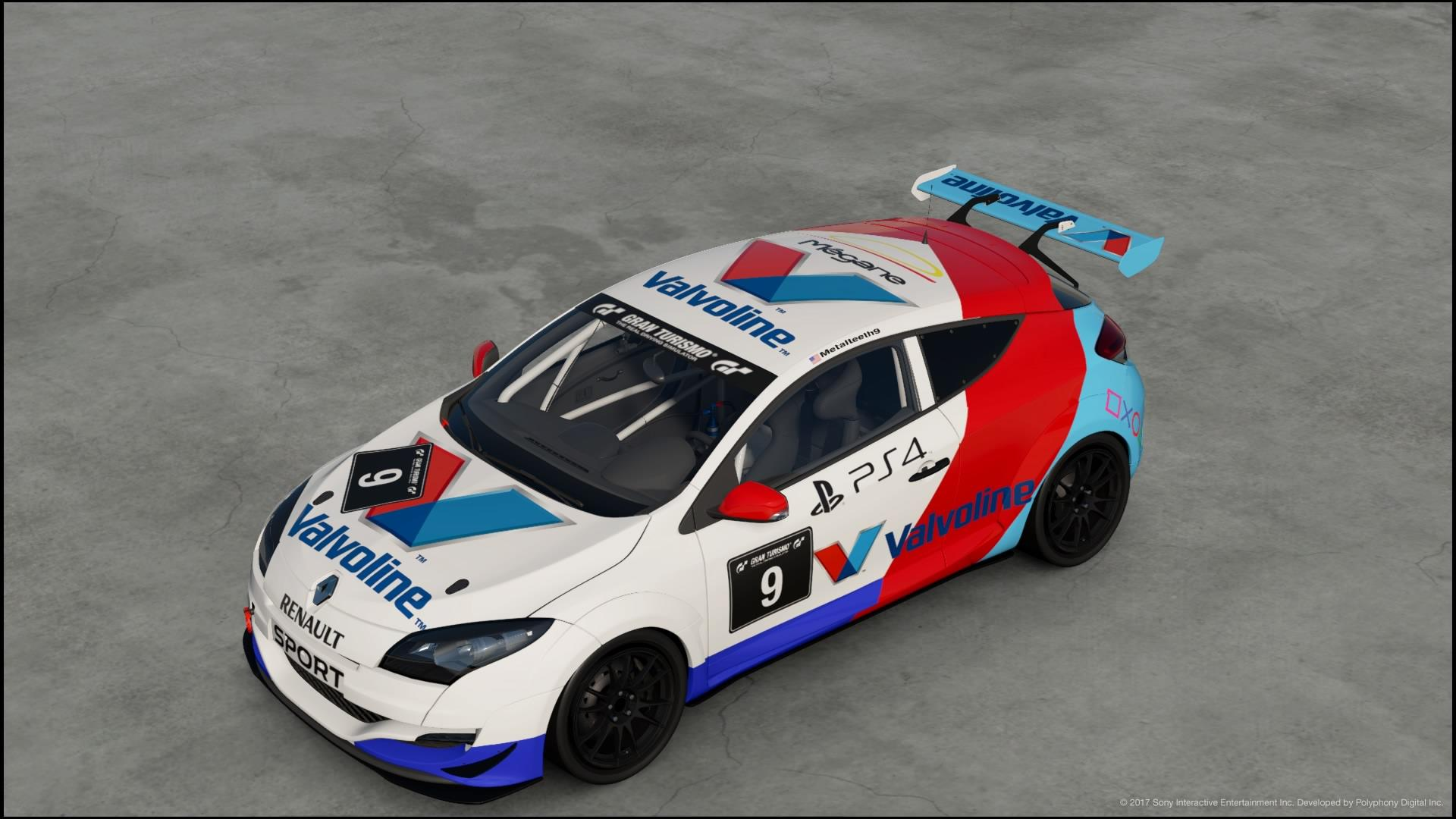 My first livery   a Valvoline Renault Megane with a Cool Twist 1920x1080