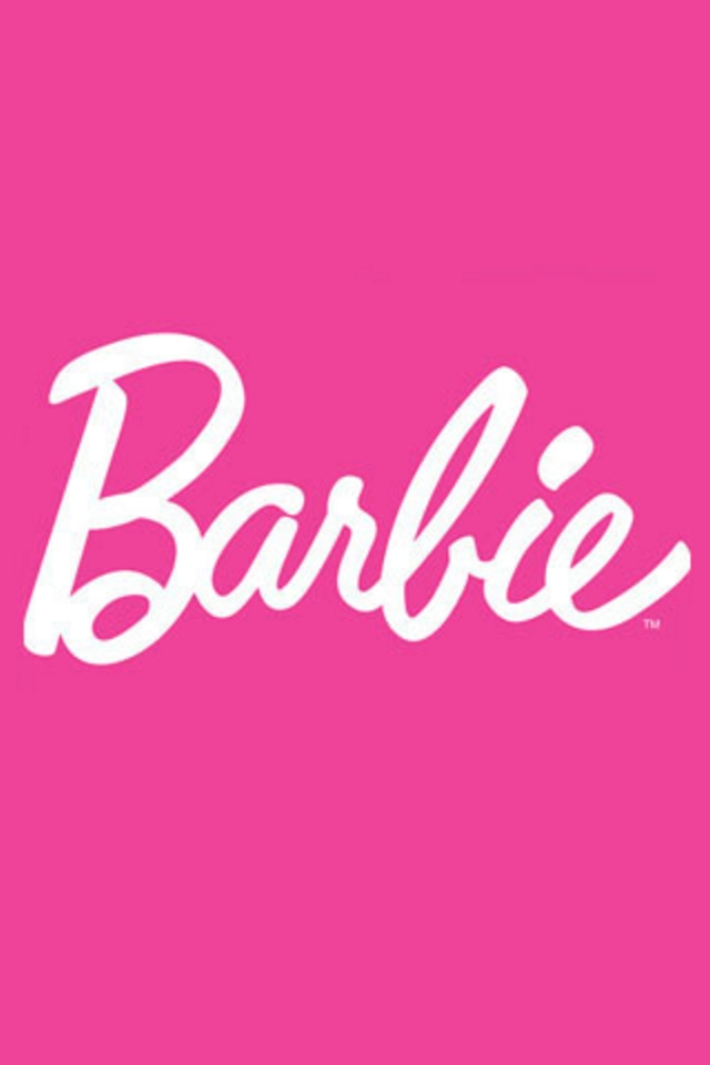 Barbie Logo iPod Touch Wallpaper Background and Theme 640x960