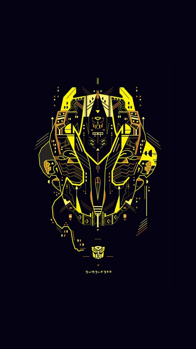 Transformers Bumblebee   The iPhone Wallpapers 640x1136