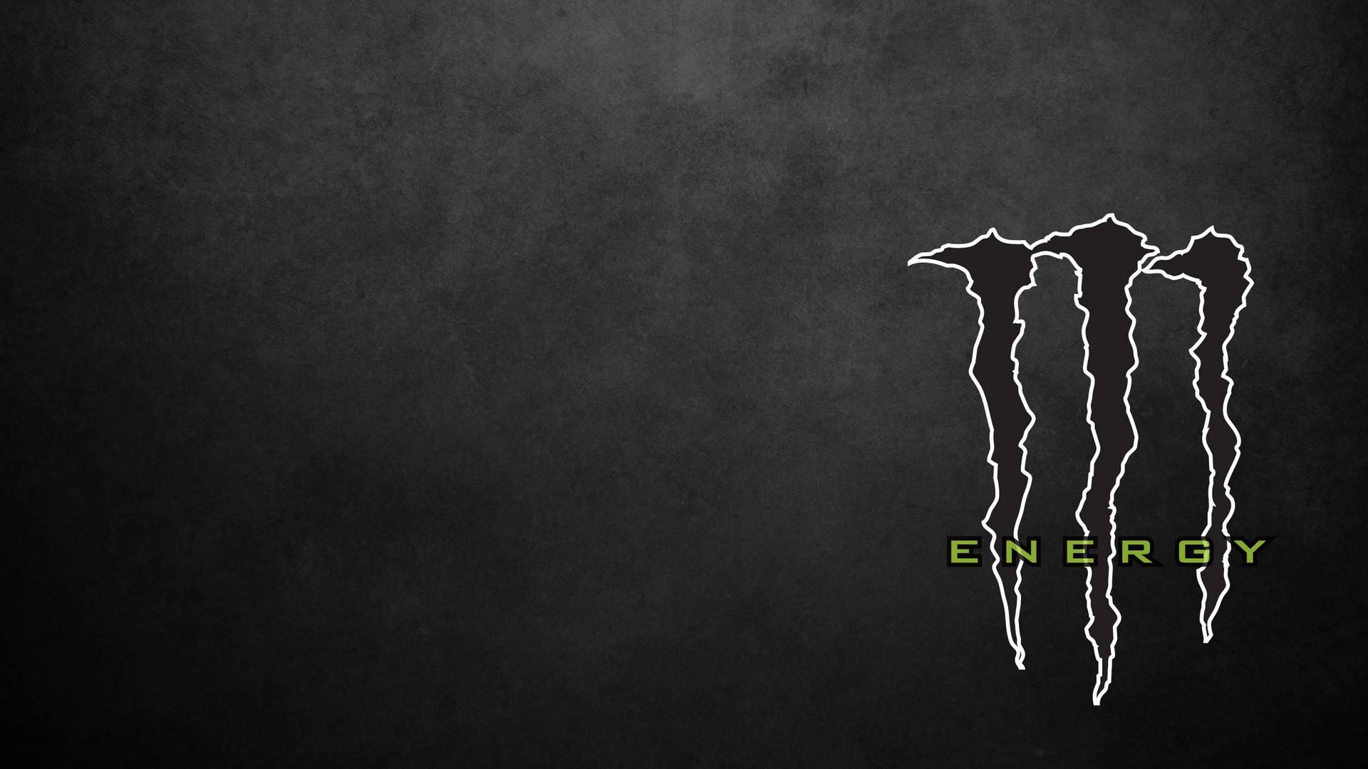black white wallpaper logo energy monster 1920x1080 1920x1080