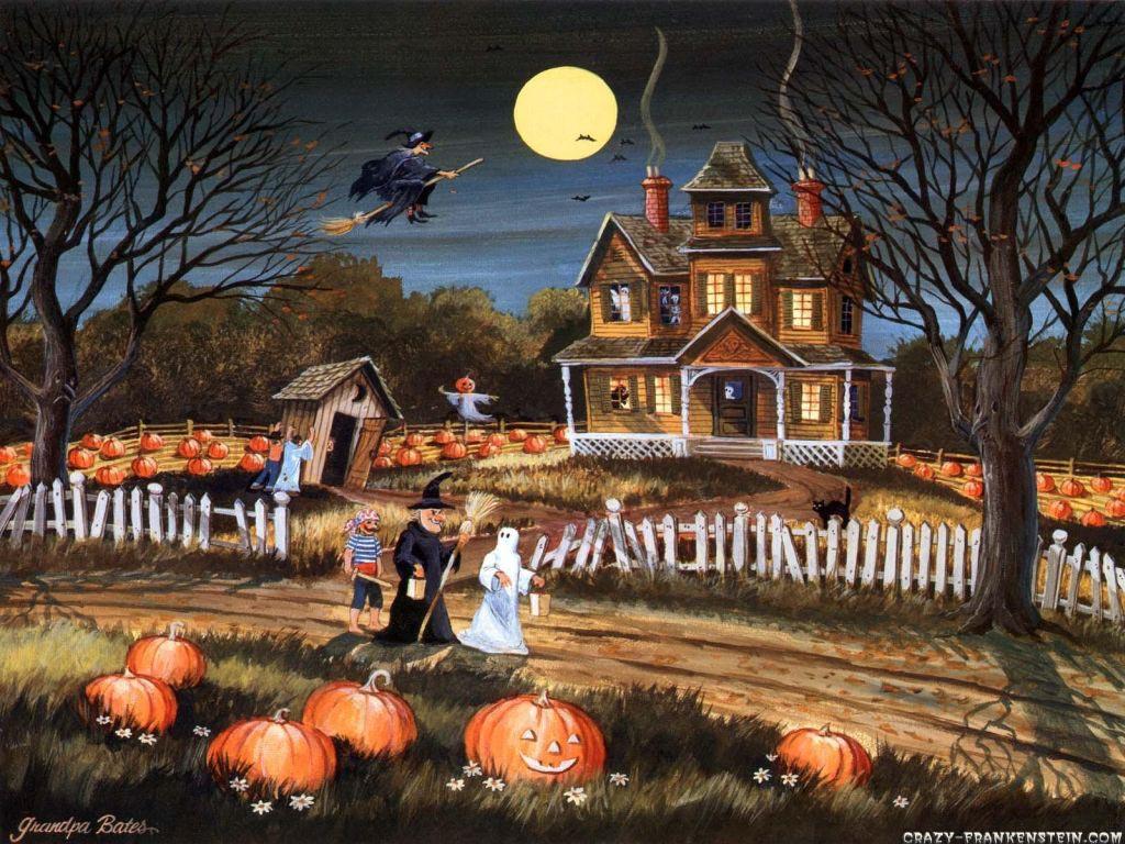78] Halloween Desktop Wallpapers on WallpaperSafari 1024x768