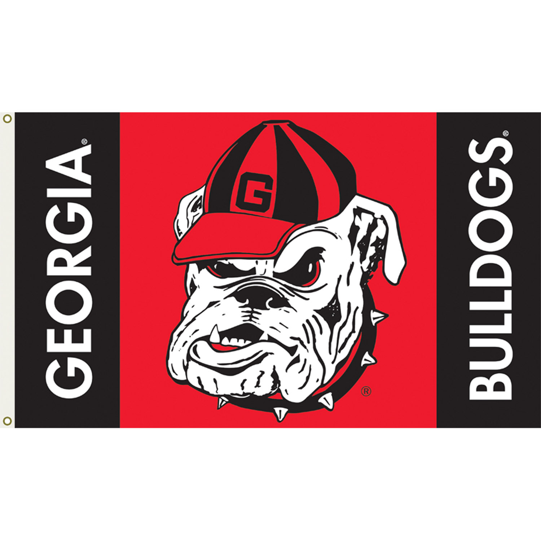 georgia bulldogs logo d team flag georgia bulldogs 3ft x 5ft team flag 1500x1500