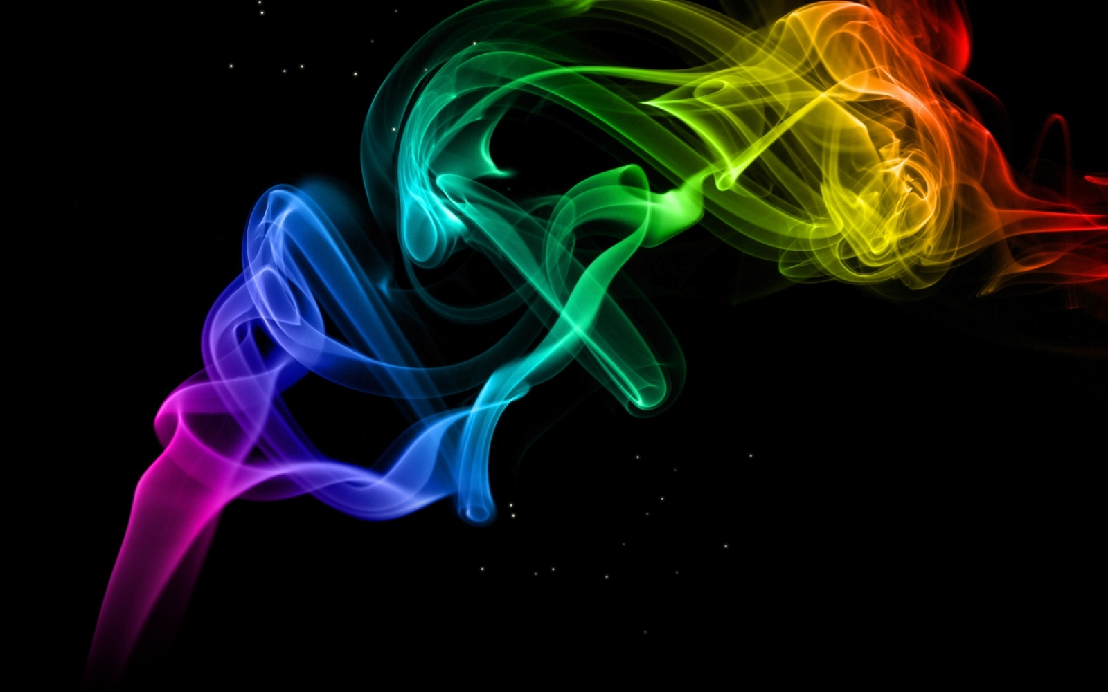 Colorful Smoke Wallpaper   8426 1600x1000