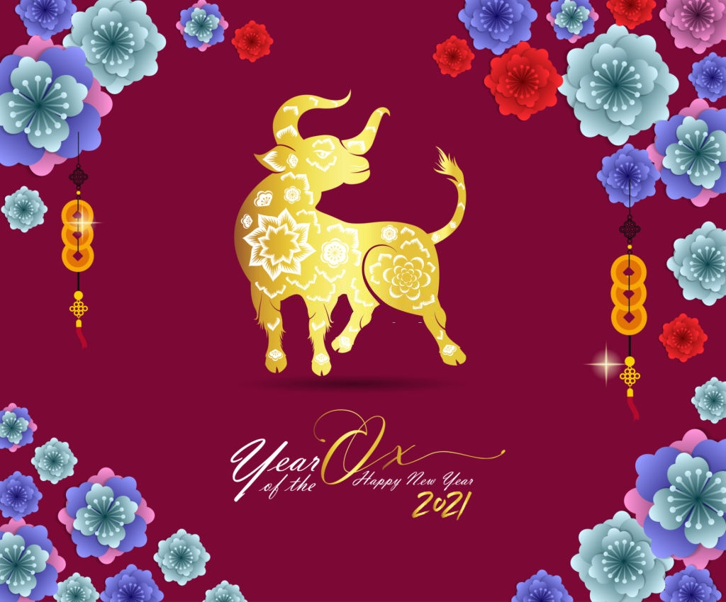 2021 Chinese New Year Wallpapers 1024x850