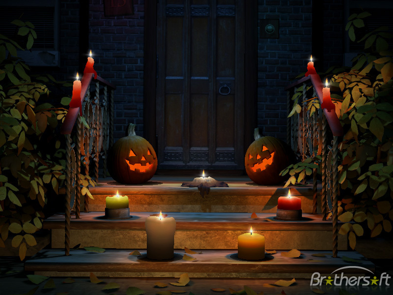 download free happy halloween 3d screensaver happy halloween 3d