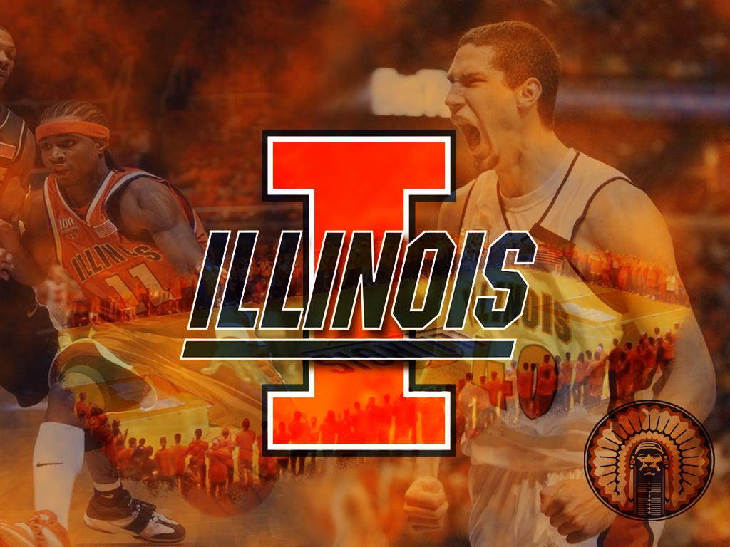 Fighting Illini Basketball Big Ten Champions Wallpaper 1024x768