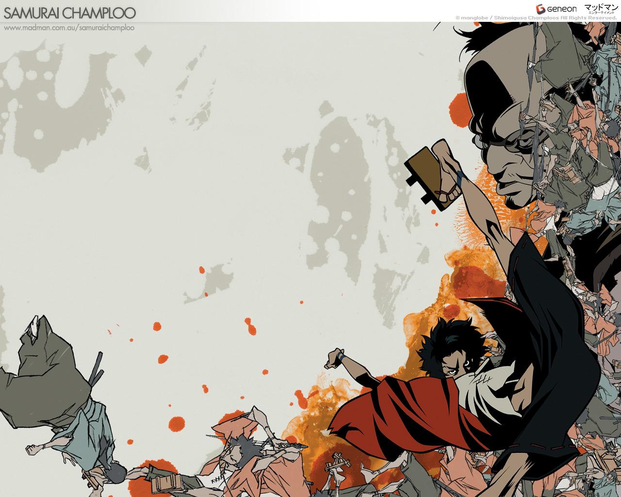 Samurai Champloo Wallpaper 11   1280 X 1024 stmednet 1280x1024
