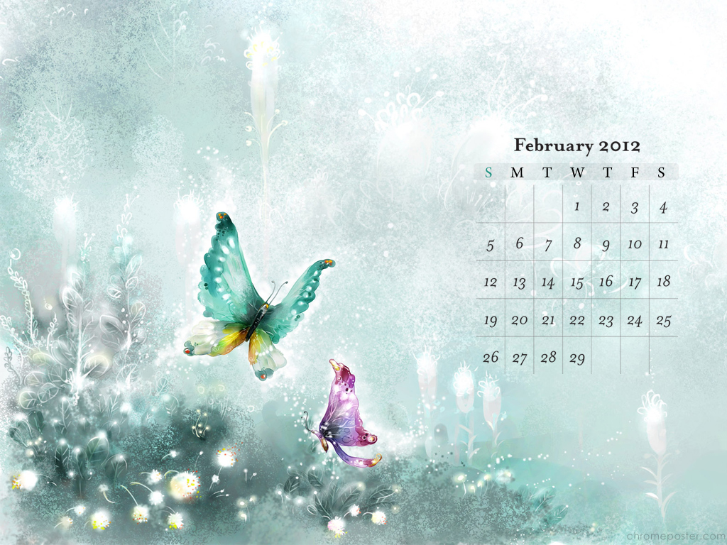 February 3rd 2012 Desktop Wallpaper Calendars February 2012 1024x768