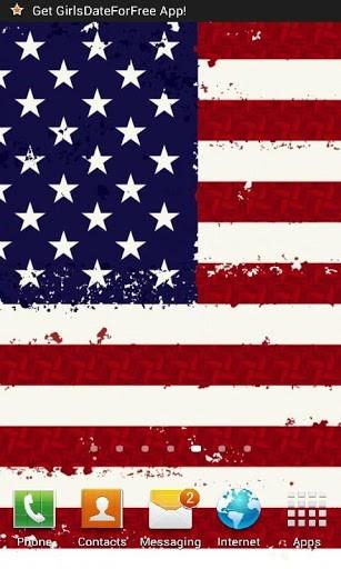 American Flag Live Wallpaper 307x512