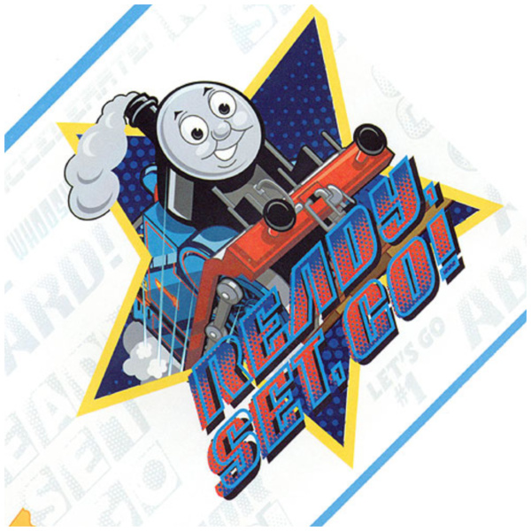 Thomas Tank Train Speed White Wallpaper Border   Pricefallscom 600x600