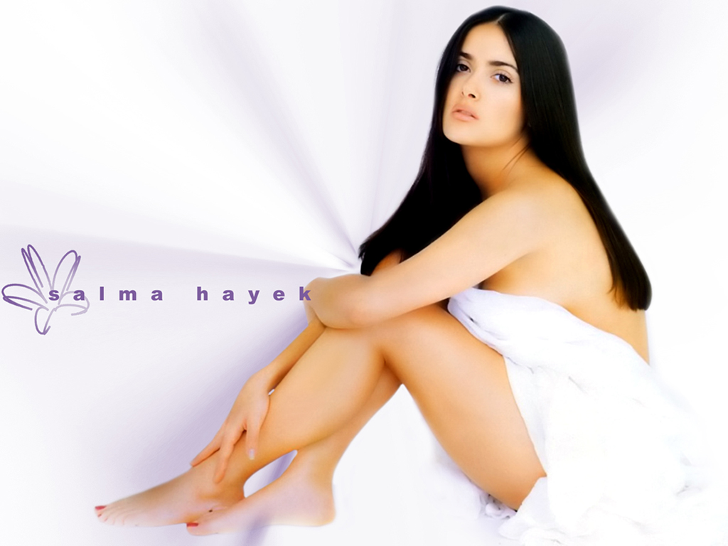 Download Salma Hayek Hot HD Wallpapers 2013 Photoshoot Wallpaper 1024x768