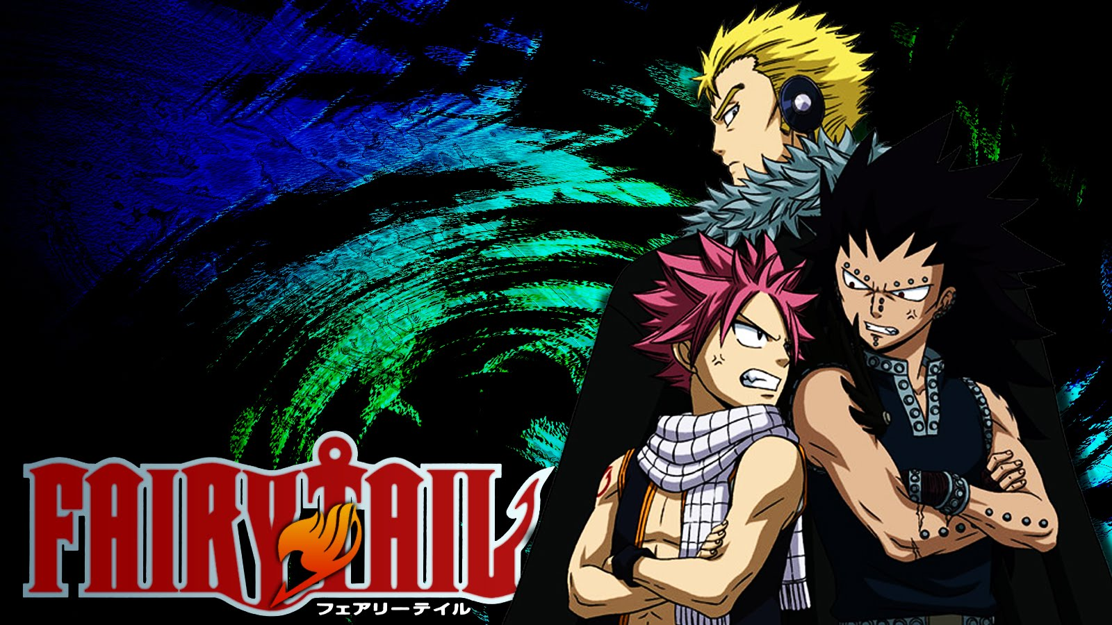 wallpaper Laxus Fairy Tail HD 1600x900
