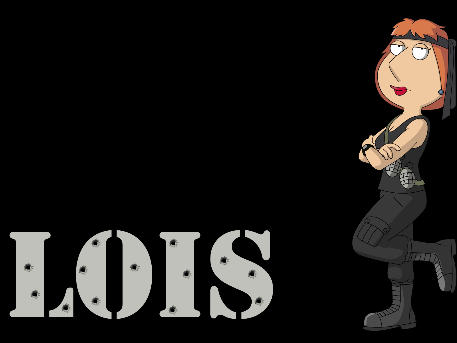Battle Ready Lois Wallpaper   Family Guy Wallpaper 9982399 1600x1200