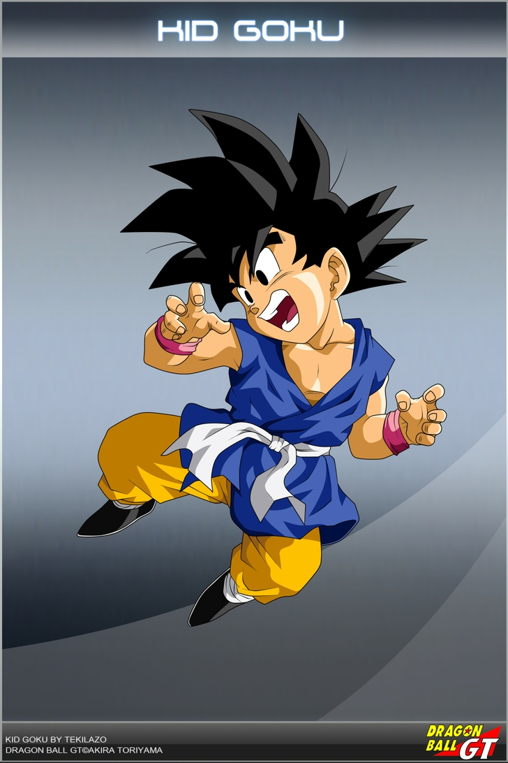 dragon ball gt kid goku 1942x2913 wallpaper High Resolution Wallpaper 728x1092