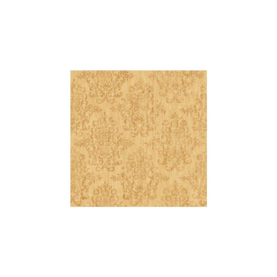 allen roth Yellow Earth Tone Damask Wallpaper LW1340159 960x960