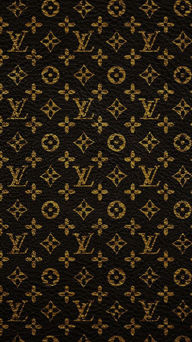 Louis Vuitton Dark Pattern Art iPhone 5s wallpaper iPhone 5 640x1136
