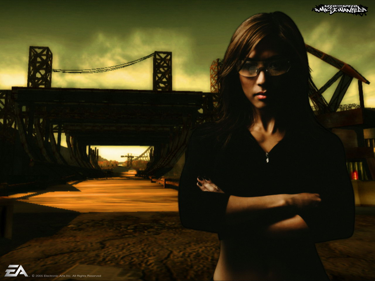 Free Download Girl 4 Need For Speed Most Wanted 1280x960 For
