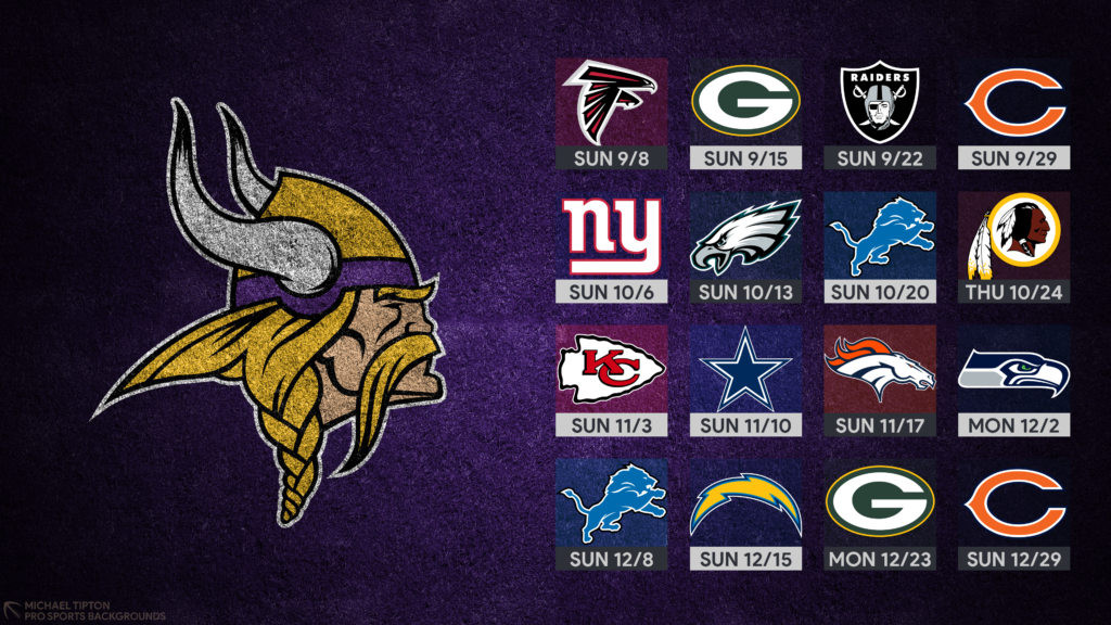 2019 Minnesota Vikings Wallpapers Pro Sports Backgrounds 1024x576