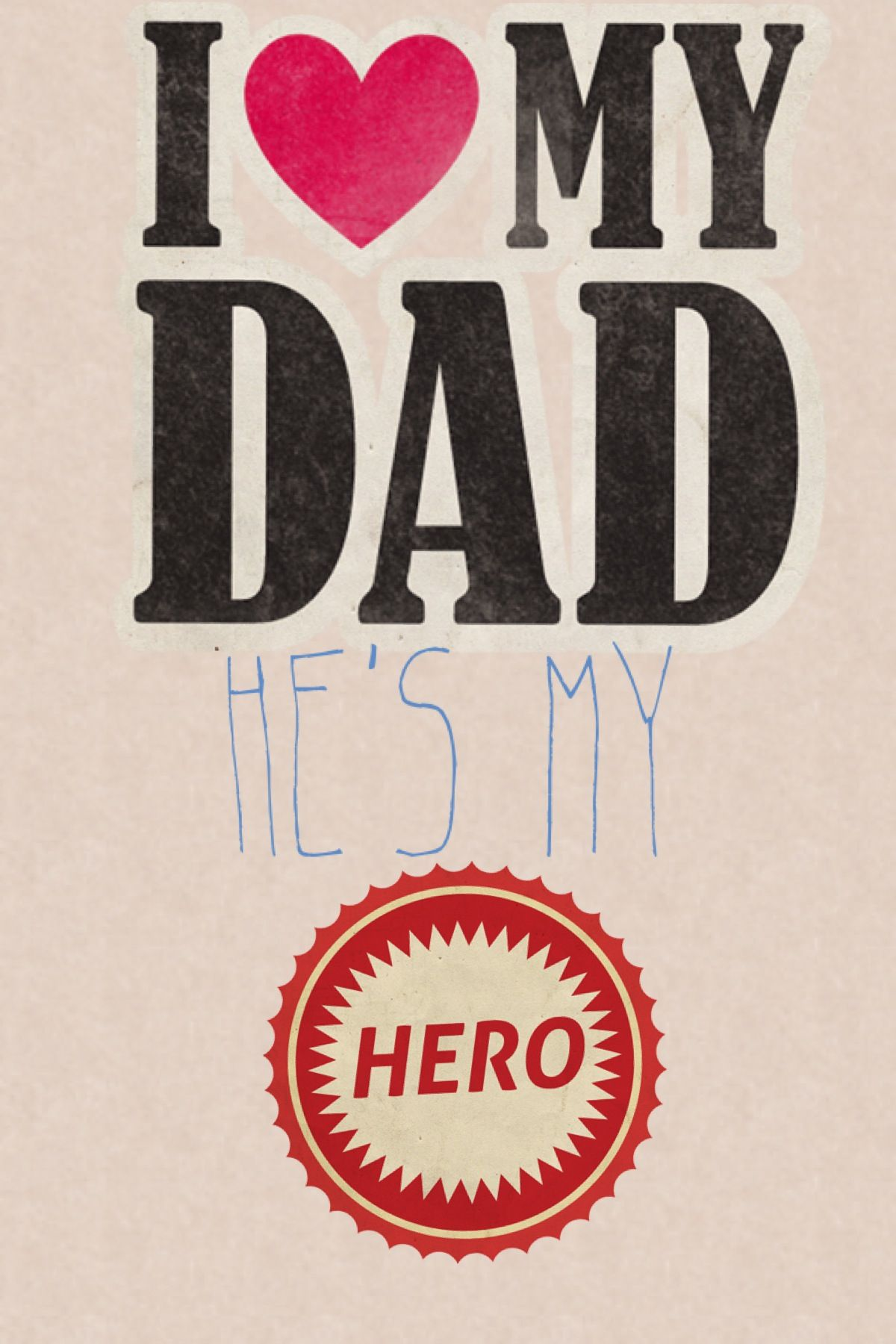 iPhone wallpaper heart love marine With images I love my dad 1200x1800