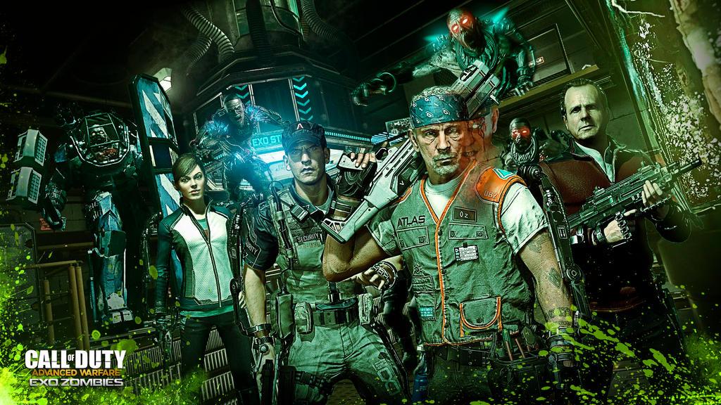 Advanced Warfare Exo Zombies wallpaper by DevilKazz 1024x576