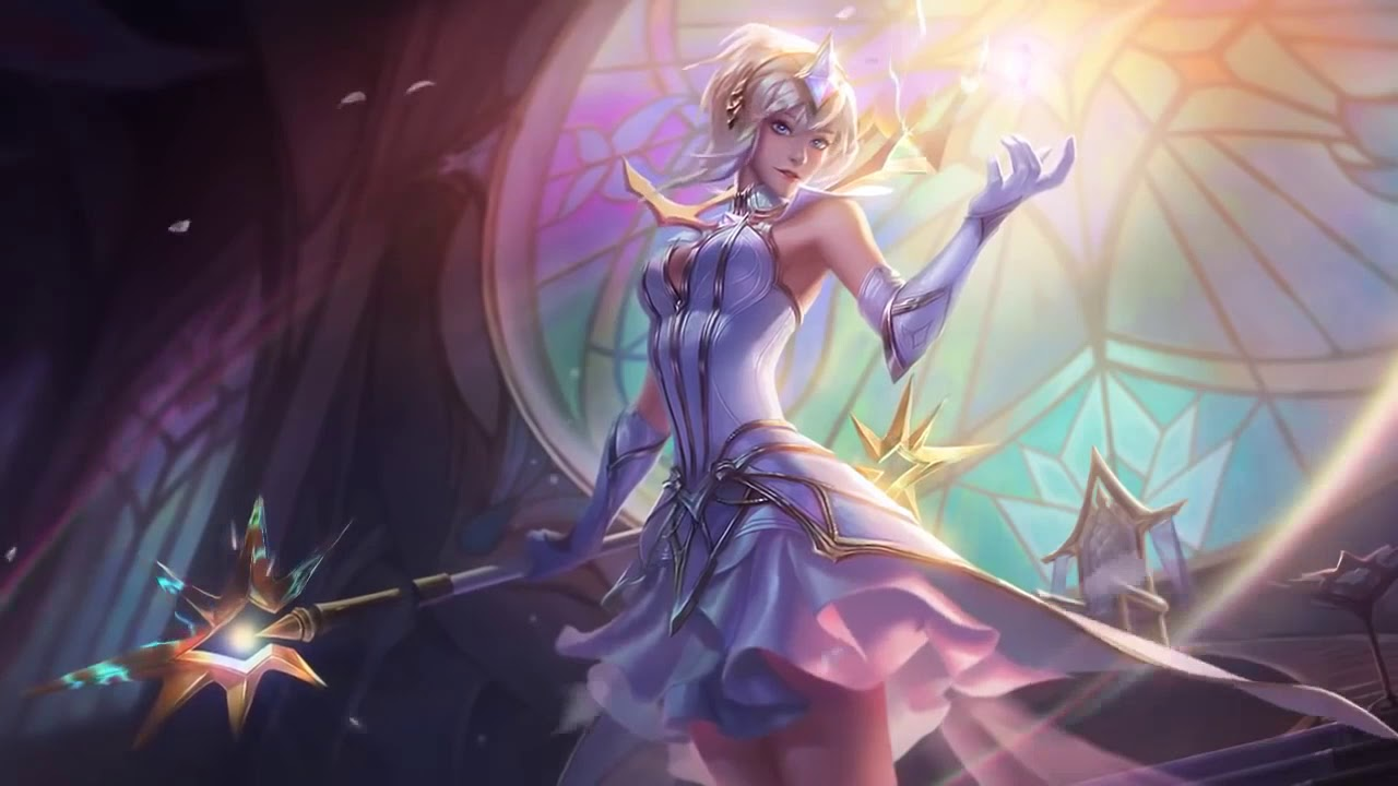 Elementalist Lux Animated wallpaper 1280x720